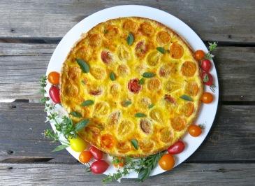 Summer Tomato Tart by Valerie Lugonja