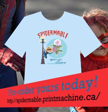 Spider-Mable T-shirt