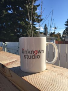 The Unknown Studio mug